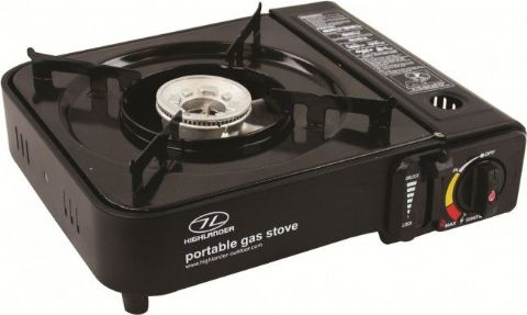 Highlander Portable Gas Stove with Piezo Iginition